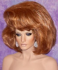 Gorgeous Ginger Bouffant 2 photo by mgwigs4u