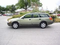 Green 2005 Subaru Outback