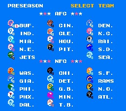 tecmo teams