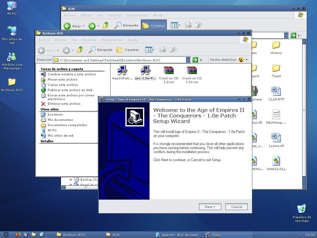 Manual para instalar las 3 versiones del AoC 256725762_e249c96928_o