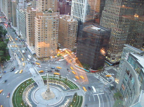 view from 36th floor - time warner center/mandarin oriental