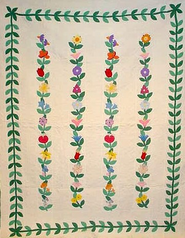 Nancy Page Club Magic Vine Quilt