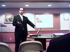 jason presenting on personal branding