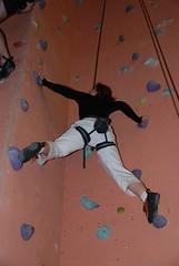 Kathrin klettert