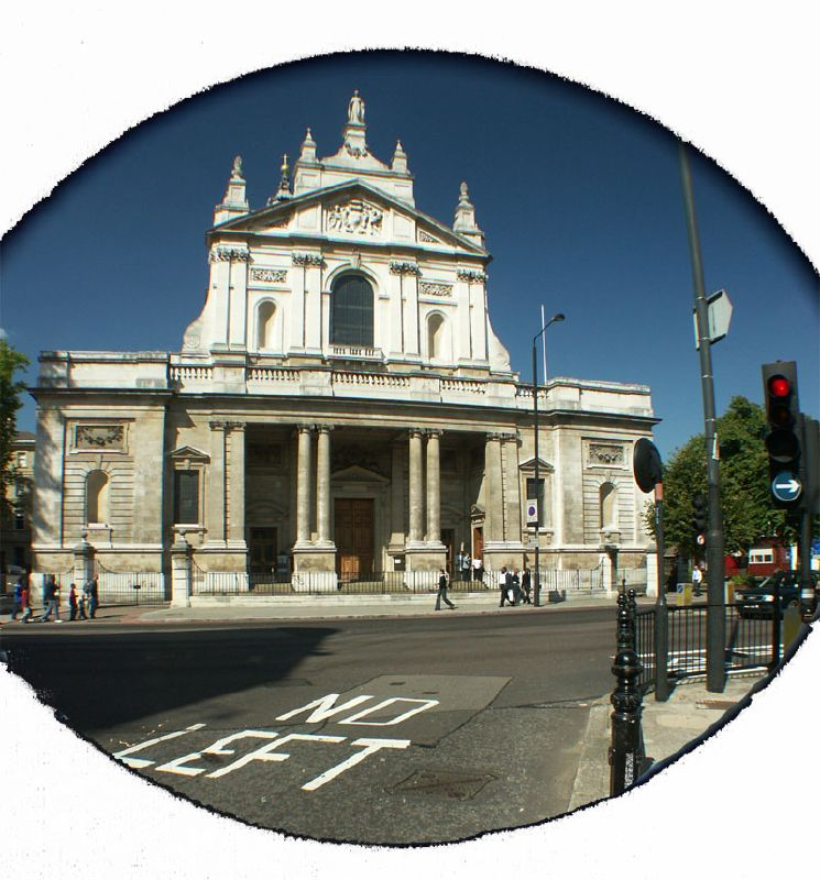 Brompton Oratory in London