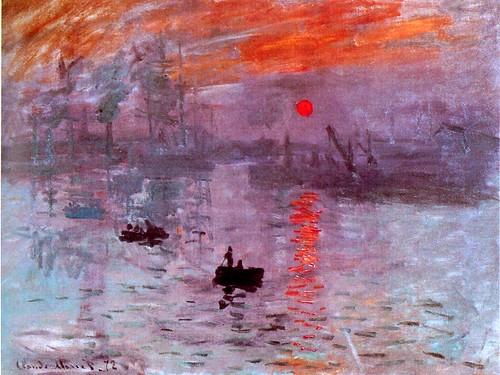 Monet: Impression soleil levant