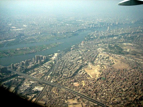 Cairo from the Plane