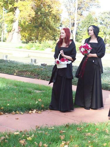 Goth Bridesmaids