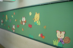 壁飾り「秋の風景」