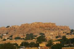 Jaisalmer fort at sunrise