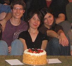Gulay's birthday cake