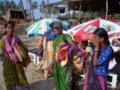 Vendeuses de la plage