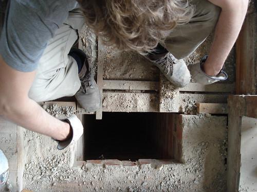 under house