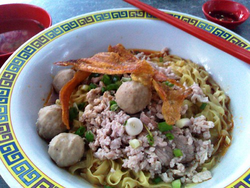 A S$6 Bowl of Mee Pok-based Bak Chor Mee