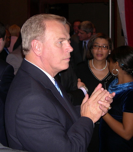 Ted Strickland Election night