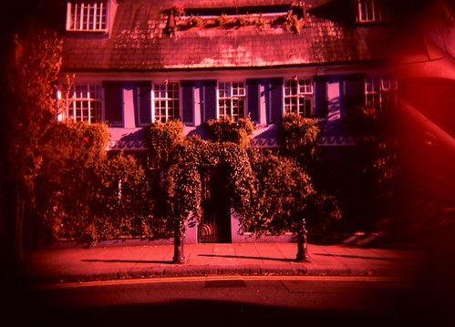 Hidden, 6x8 Holga photography by Adam Scott