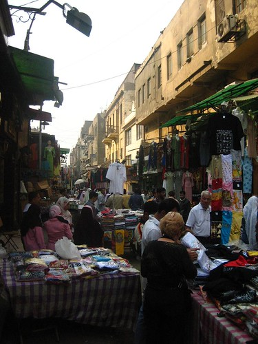 Clothes at the Souk in Islamic Cairo