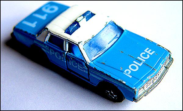 toy cop car