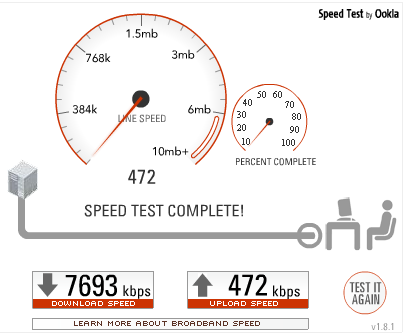 Holy Bandwidth - Taka 2: Bandwidth after Road Runner Turbo