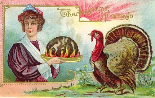 Thanksgiving Flaming