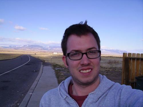 Self-Portrait in Montana