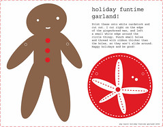 holiday funtime garland
