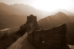 the great wall of china photo by Sophie Summer