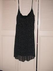 Black Spagetti Strap Dress - B&Lu 4X - $15