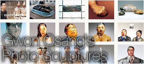 Gwon Osang's Photo Sculptures