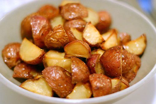 wasabi roasted potatoes