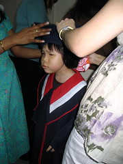 Faith's graduation day at Special School