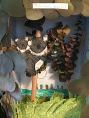 koala diorama