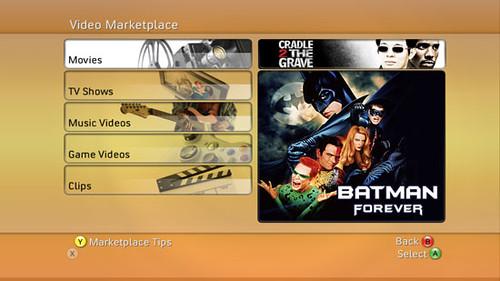 Xbox 360 Video Marketplace