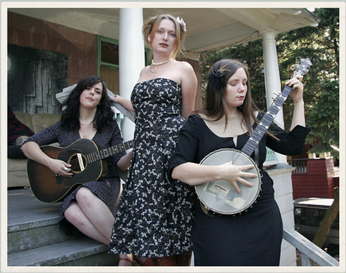 The Be Good Tanyas are (left to right) Samantha Parton, Trish Klein, and Frazey Ford