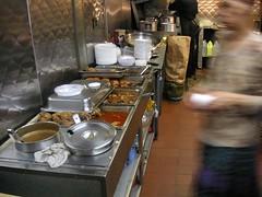 el barrio fondita restaurant. spanish harlem new yorik