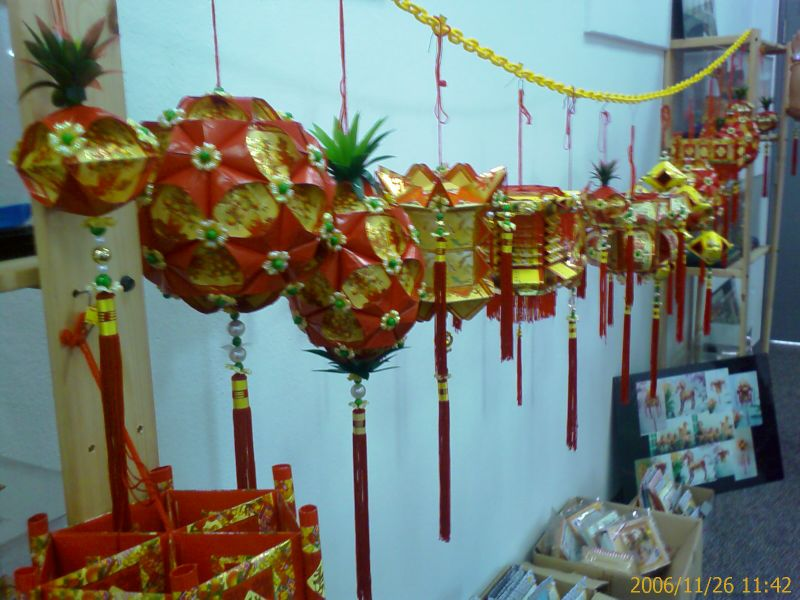 Finished Hong Bao Lanterns