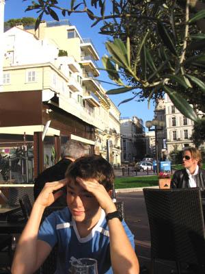 Clem sous l'olivier
