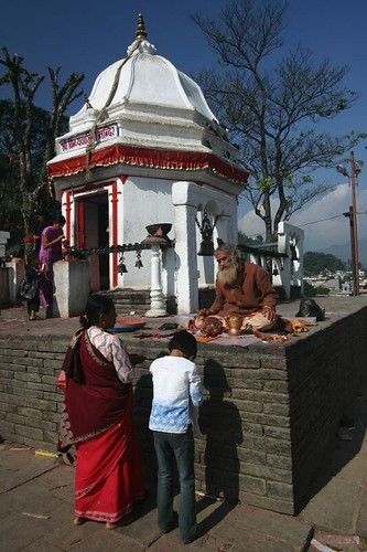 Pokhara temple.