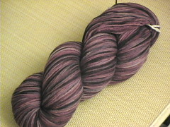 purple sock yarn