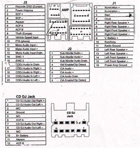 Radio Harness Plug Diagram 54990 on 2004 ford explorer radio wiring diagram