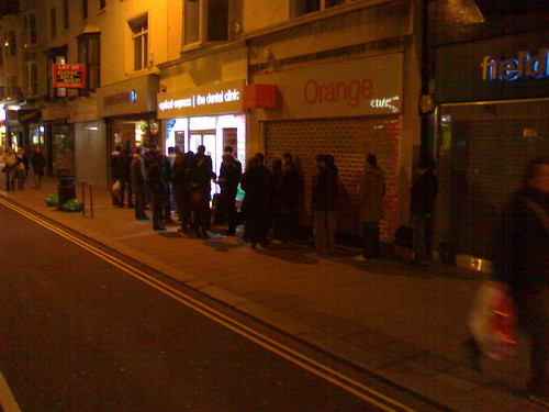 Brighton Wii Queue