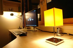 Desk photo by `+