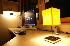Desk photo by `+