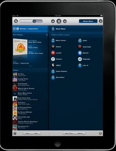 Sonos iPad 2