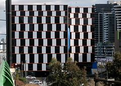 Café Wall Illusion 3 - Docklands Melbourne - e0633 photo by Rikx