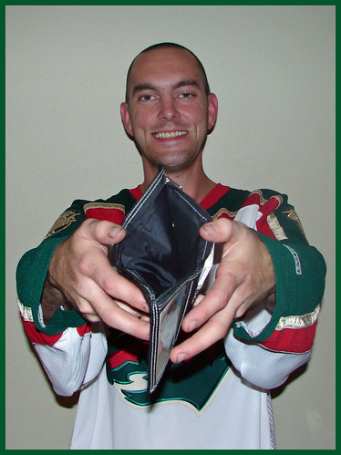 Day 344 - You are looking at the proud owner of an empty wallet.