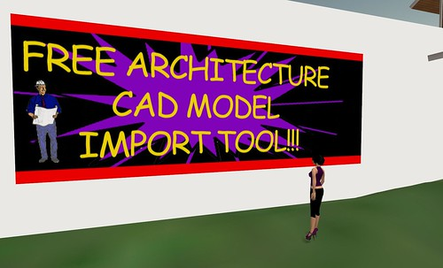 Architecture CAD Model Importing Now Possible!