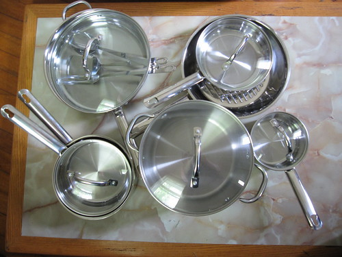 thrift store treasure - cookware