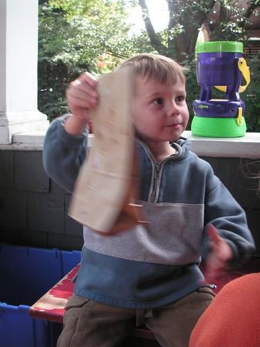 leftover favor bags