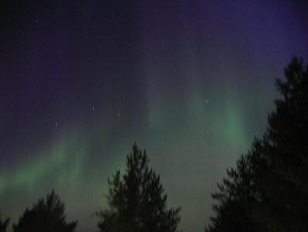 Las auroras boreales son de lo mejor de Finlandia